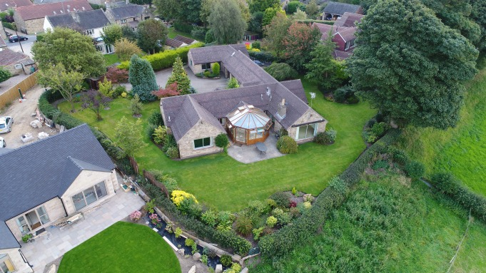 Estate agents aerial photography and videography
