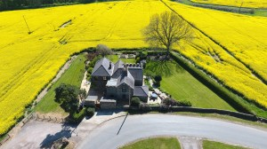 Estate agents aerial drone photography and videography