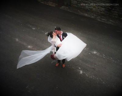 Hassop Hall wedding videography and photography
